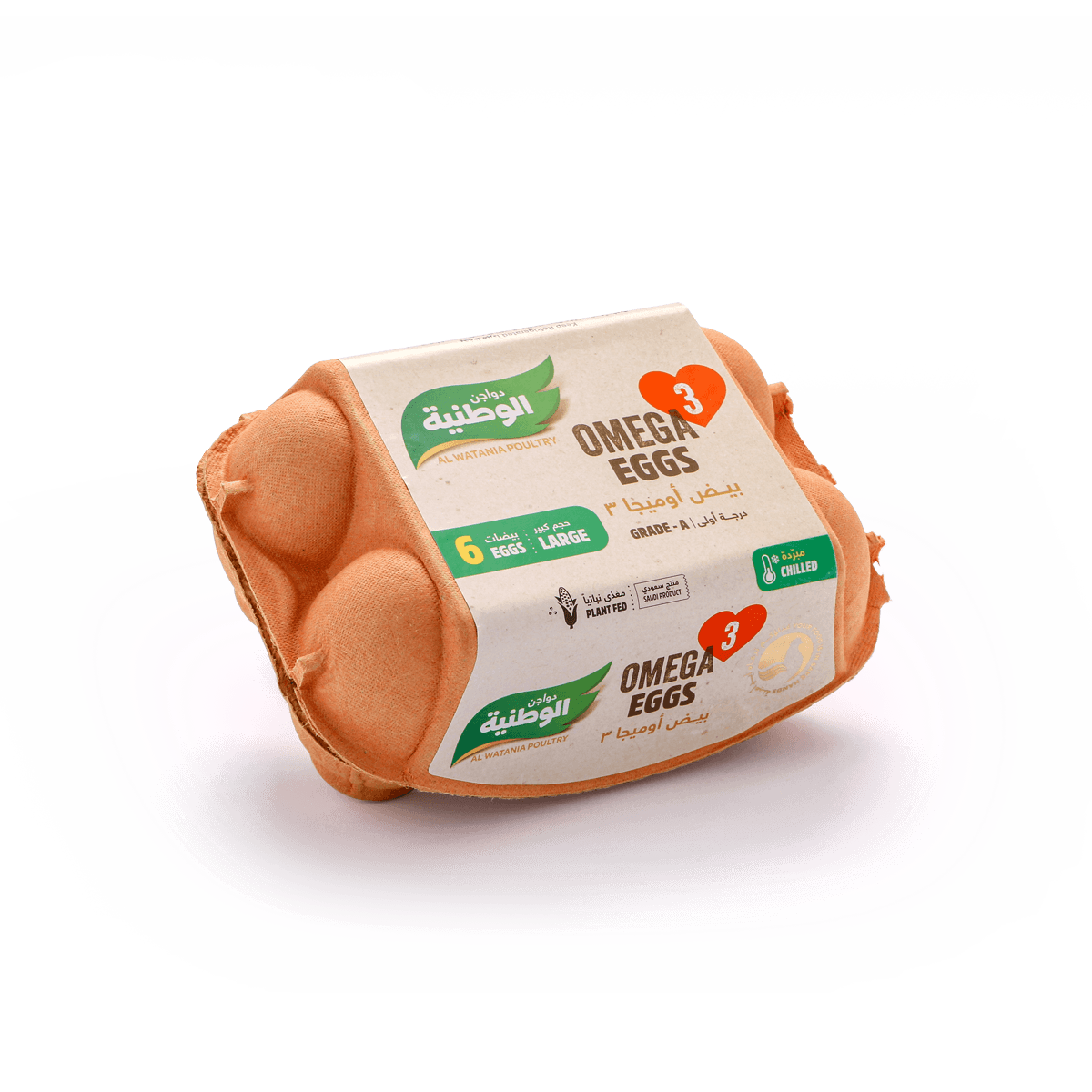 3 بيض أوميغا
