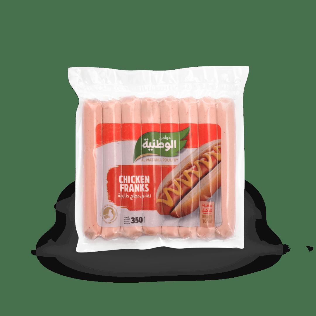 نقانق دجاج طازجة دواجن الوطنية