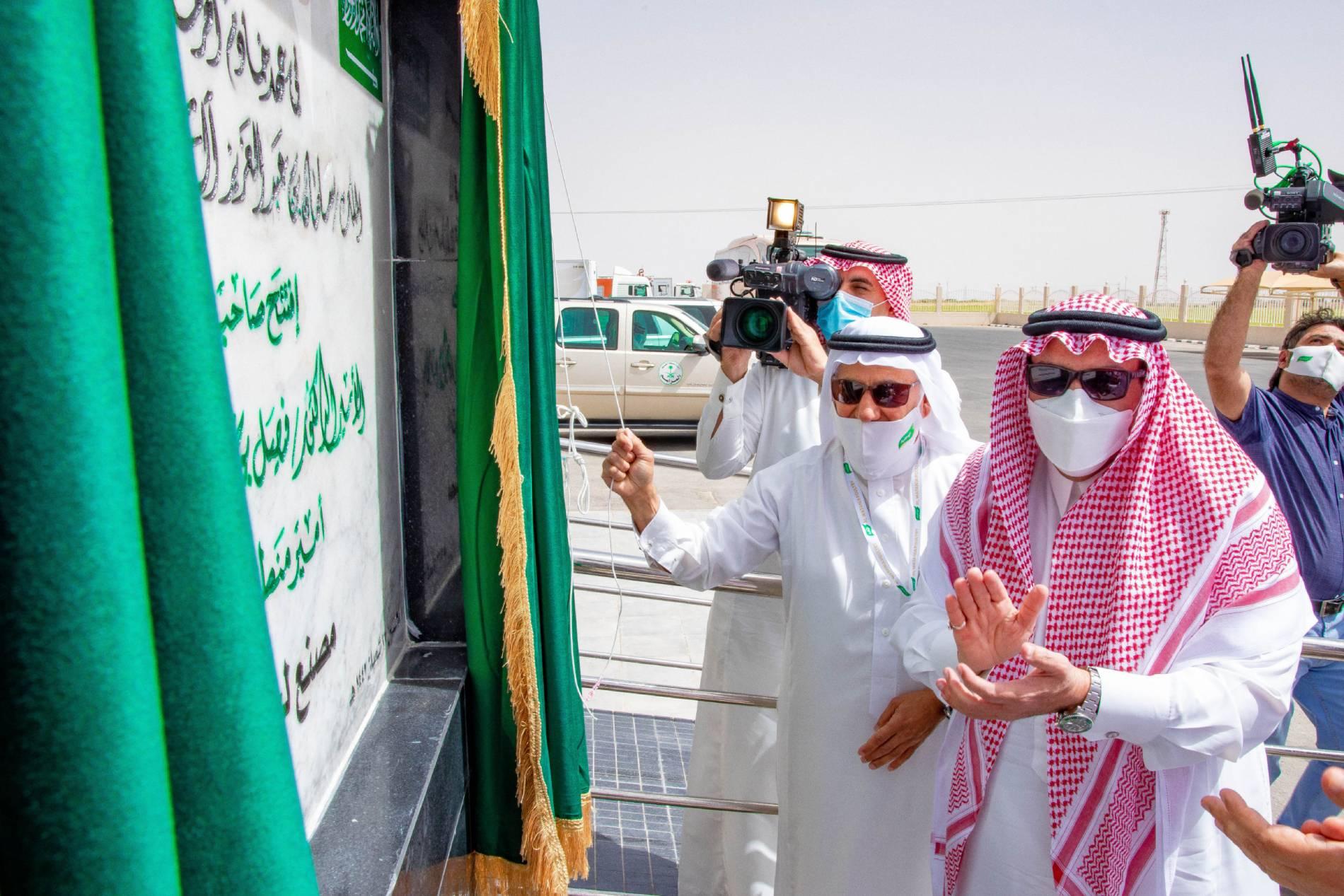 سمو أمير القصيم يدشن عدداً من المشاريع بشركة دواجن الوطنية